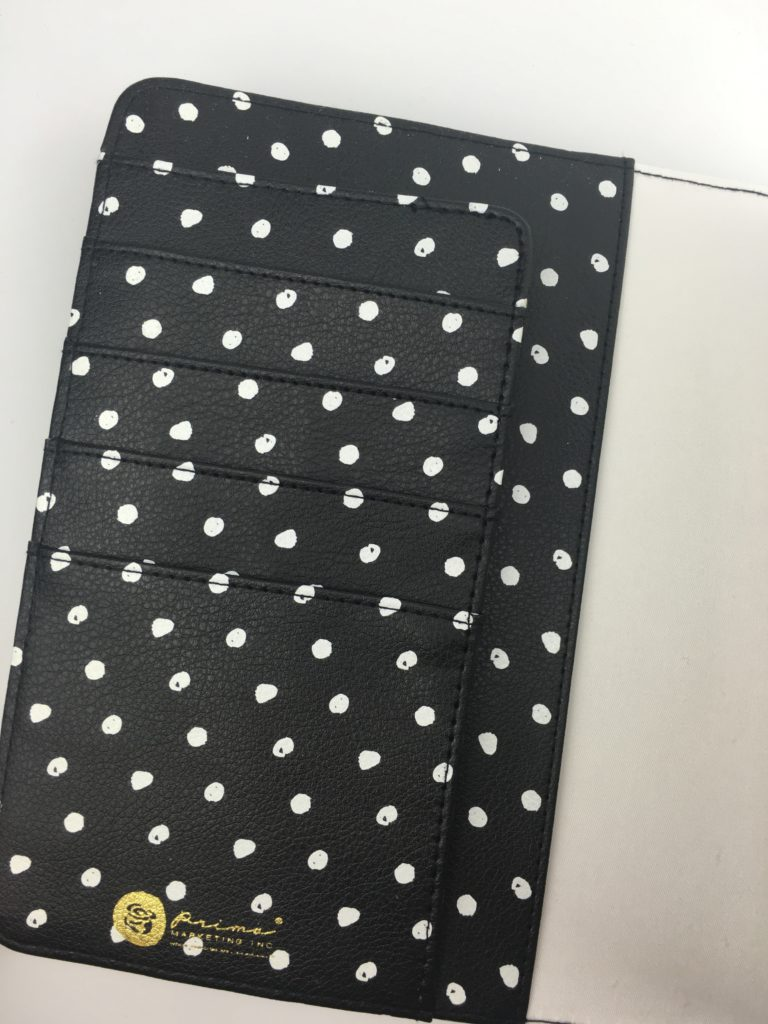 prima marketing a5 planner cover hardcover polka dot decorative business card holder direct sales review pros and cons inserts-min