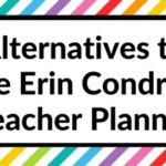 Alternatives to the Erin Condren Teacher Planner