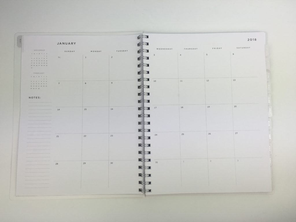 american crafts planner monthly calendar 2 page spread minimalist cheap spiral bound review pros and cons aussie planner addict favorite planner brands