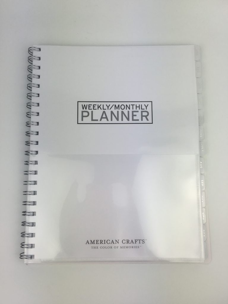 american crafts weekly planner 2018 honest review pros and cons where to buy in australia