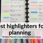 Best highlighters for planning