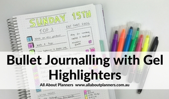 bullet journalling spread ideas daily layout plum paper grid dot notebook review wax highlighters pros and cons