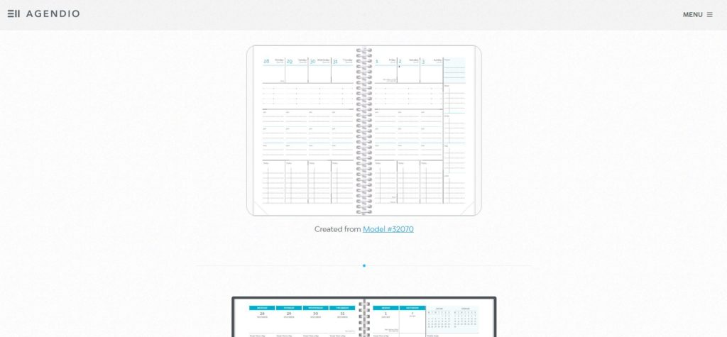 creating a custom planner with agendio personalised weekly spread examples inspiration vertical horizontal notebook
