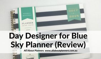 day designer for blue sky planner review horizontal wide columns daily planner schedule 7am to 7pm cheap affordable lined spread