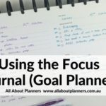 Using the Focus Journal Daily Planner (Week 42 of the 52 Planners in 52 Weeks Challenge)