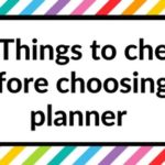 Finding planner peace: 18 things to check before choosing a planner