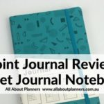 Review of the Point Journal (similar to the bullet journal)