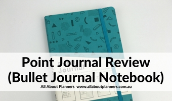 point journal bullet journal notebook review grid dot a5 notebook australia big w affordable pros conds bujo ideas planner diy
