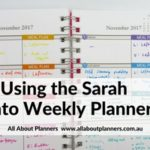 Using the Sarah Pinto Weekly Planner (Week 45 of the 52 Planners in 52 Weeks Challenge)