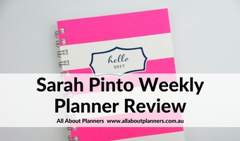 sarah pinto weekly planner review 2017 weekly 2 page spread mini cheaper alternative to mini happy planner horizontal unlined