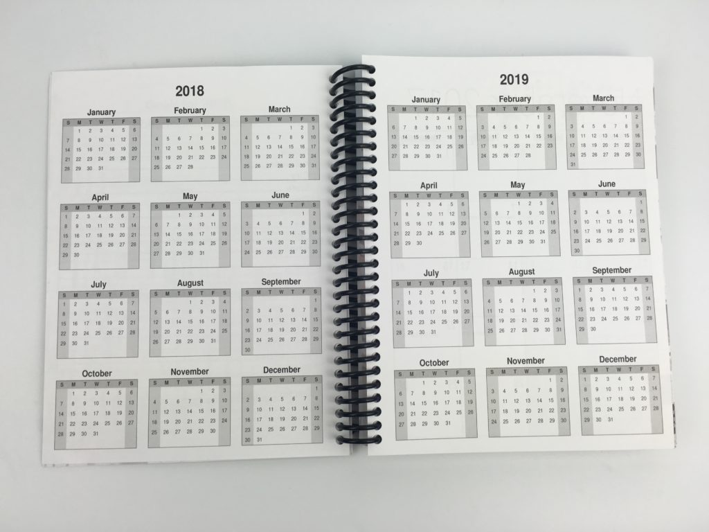 ultimate weekly planner review sunday start dates at a glance calendar student mom meal planning blogging sunday start bullet journal alternative