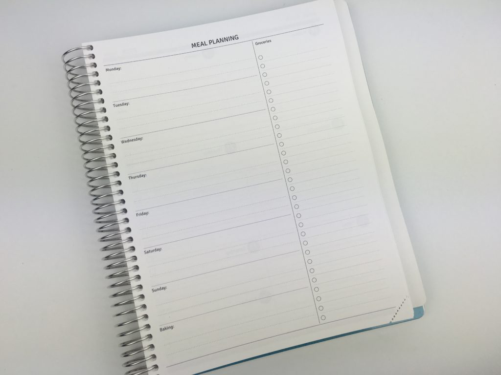 agendio planner review weekly meal planner grocery list custom personalised monday week start you choose pages cover font colors diy gift planner problem solved