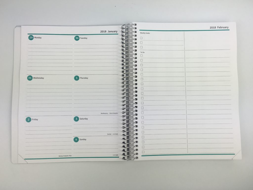 Agendio Weekly Planner Personalised Customisable Build Your Own Planner  Daily Options Font Color Cover Checklist Labels
