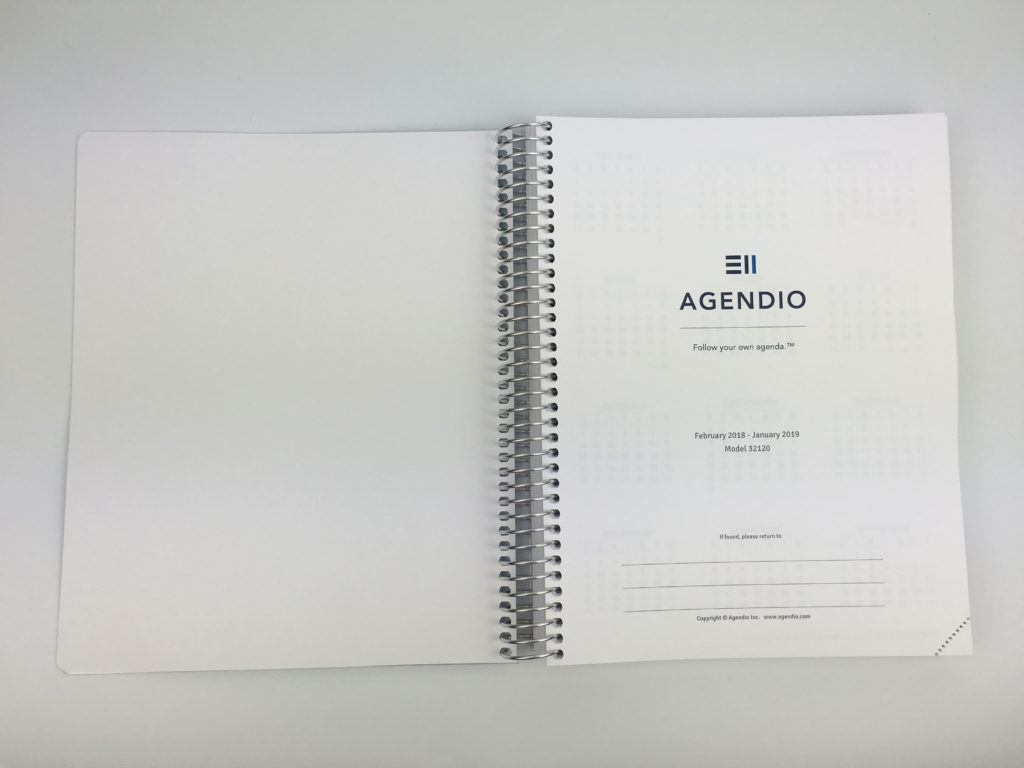 agendio weekly planner review pros and cons custom personalised weekly planner daily insert a5 letter size medium monday start daily build your own