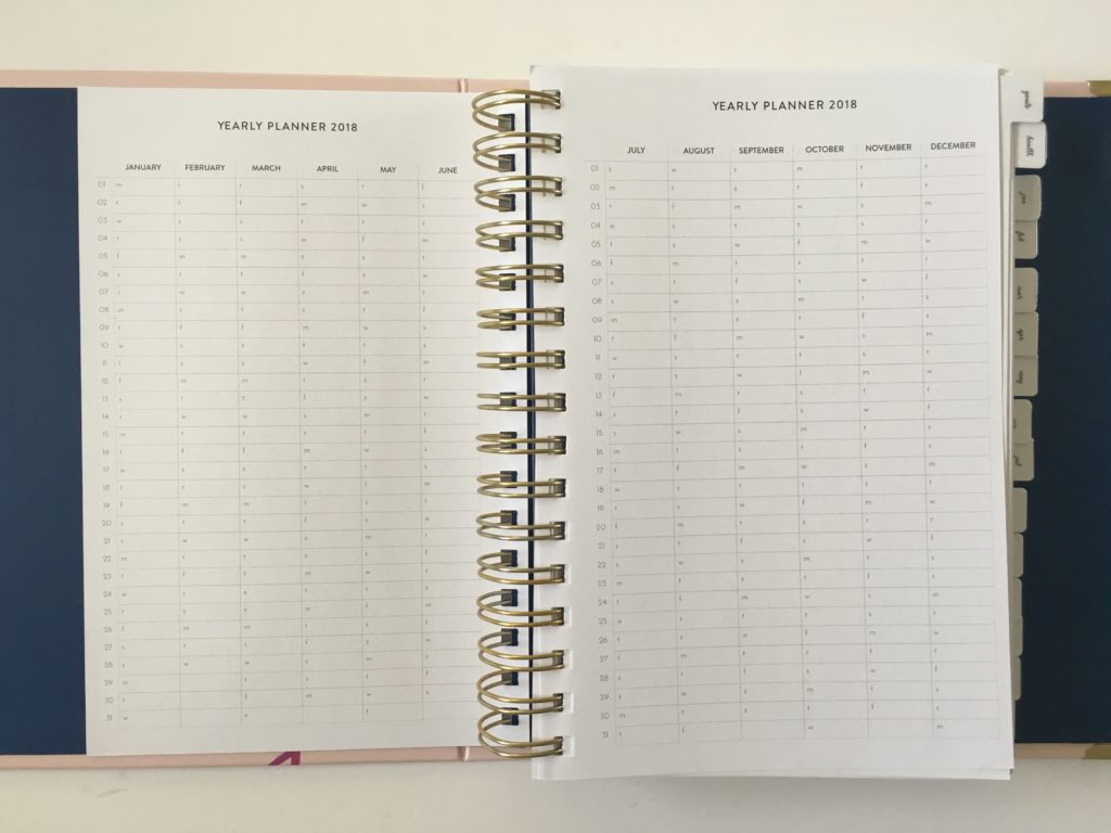 amelia lane planner review pros and cons video annual planner spiral bound horizontal weekly spread monday start australian planner