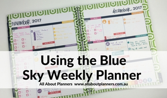 blue sky weekly planner review color coding organization dabney lee horizontal monday start week sunday large letter size thin