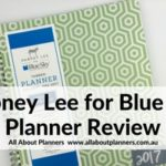 Dabney Lee for Blue Sky Weekly Planner Review (Pros, cons and a video walkthrough)