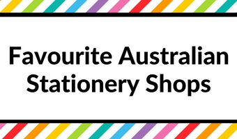 favourite australian stationery shops supplies planner addict haul pen stationery accessories stickers inserts
