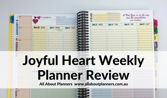 Joyful Heart Planner Review (Pros, Cons & Video Flip Through)