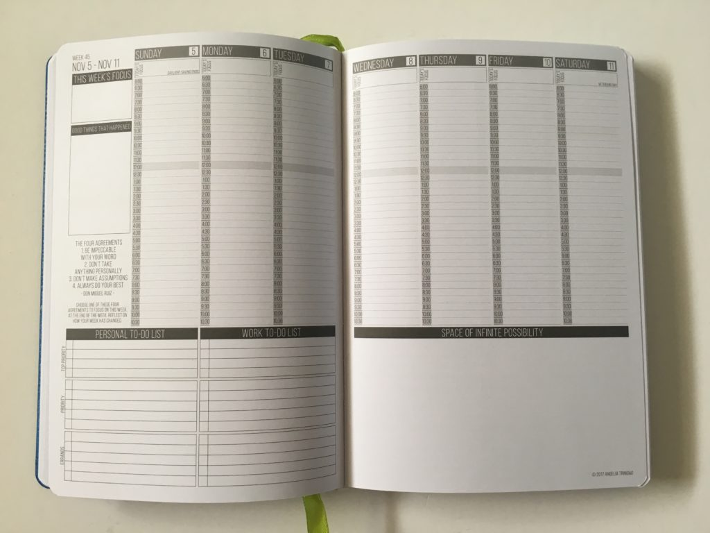 passion planner compact review 2018 weekly planner 2 page vertical gender neutral simple minimalist sunday monday start productivity goal setting