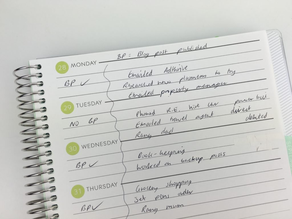 plum paper planner review hacks tips pre planning the week how to get the most out of your planner weekly