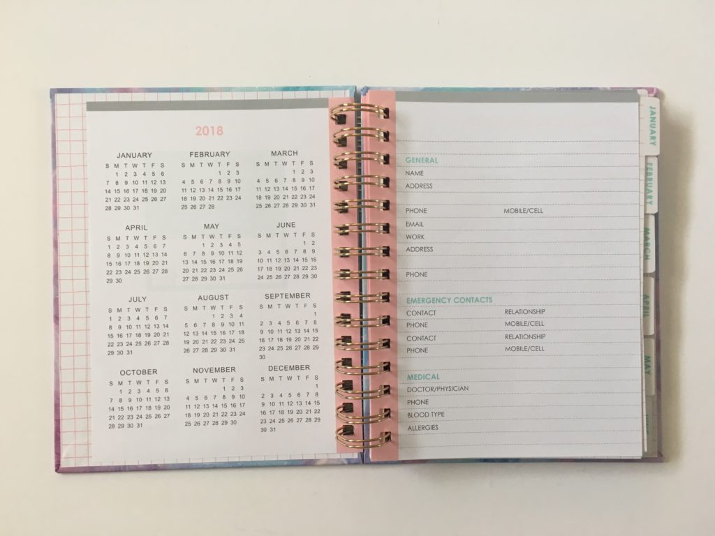 typo weekly planner review 2018 agendia diary horizontal 2 page weekly spread starting monday australian made planner affordable cheap preppy chic