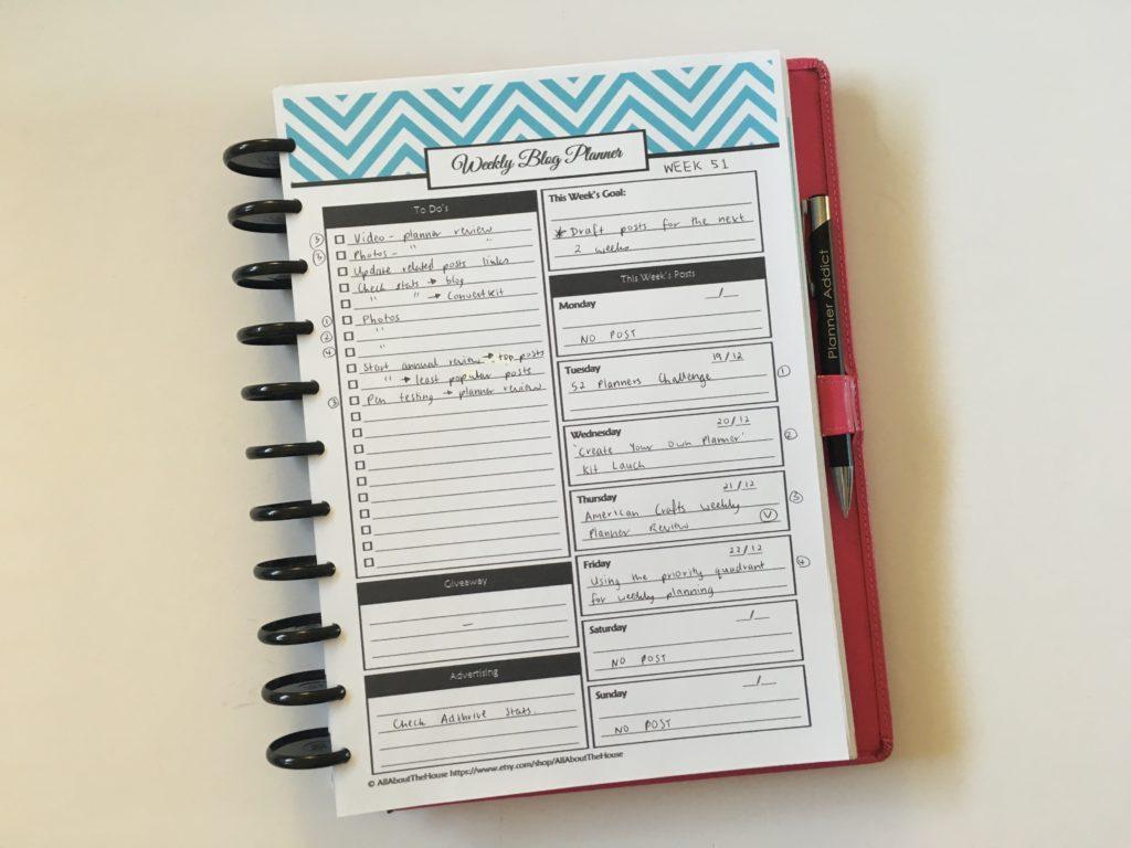 Post planner blog giveaways