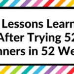 52 Lessons learned after trying 52 different planners in 52 weeks
