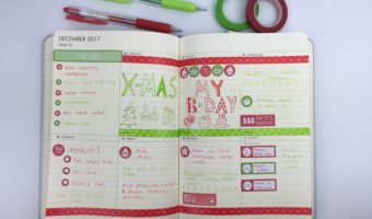 Using a Kikki K Weekly Planner (Week 52 of the 52 Planners in 52 Weeks)