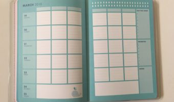 Kikki K Student Weekly Planner Review (Pros, cons and a video walkthrough)