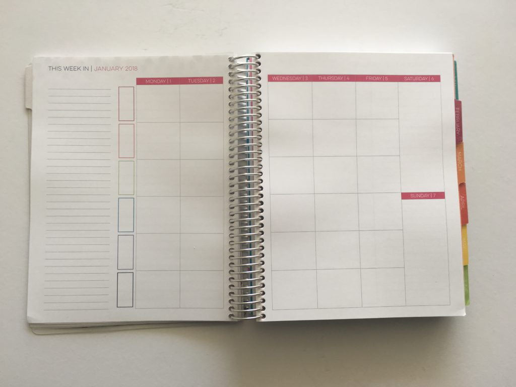 limelife planner review australia planner addict versus plum paper cheaper alternative bright rainbow colorful student mom blogging medium size monday start week 2018 2019