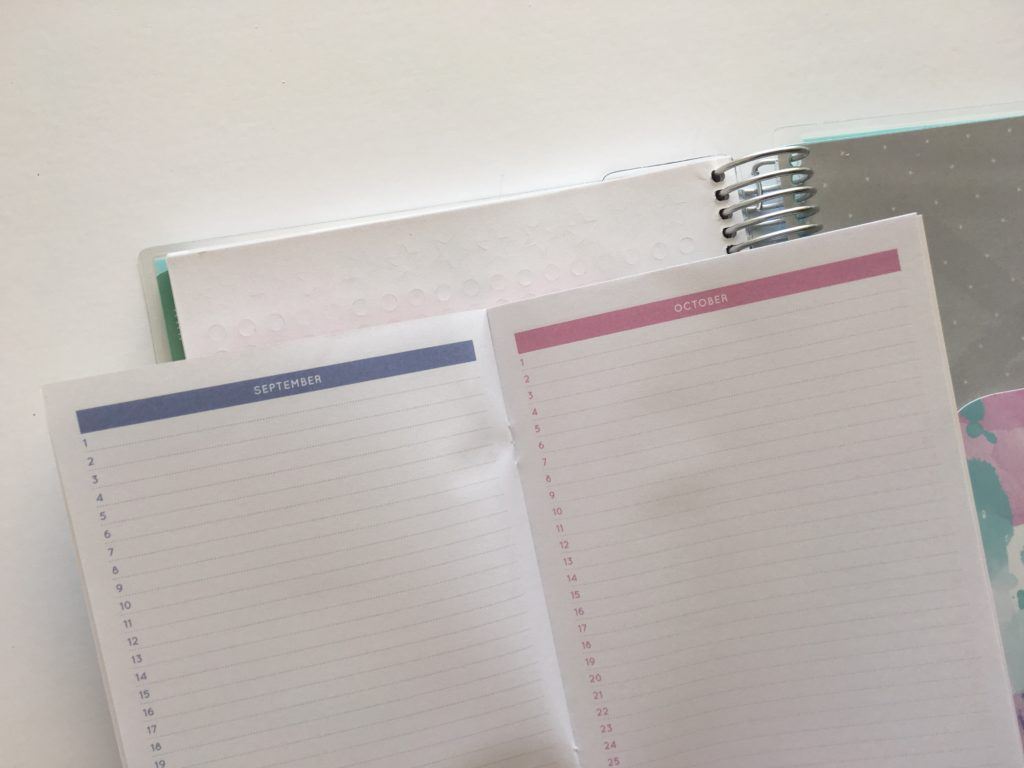 otto wellbeing planner review cheaper similar alternative to erin condren monthly planning book colorful bright pastel functional simple