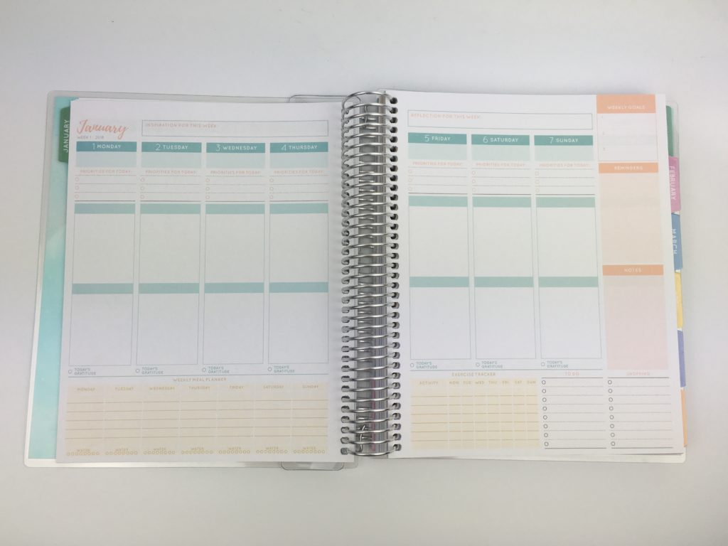 otto wellbeing planner review officeworks australian made bright colorful fitness planner pros and cons affordable alternatives to erin condren 2 page weekly spread