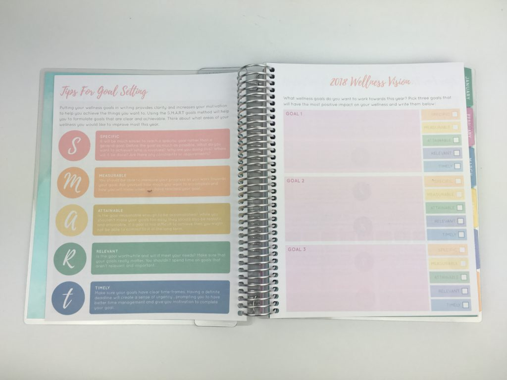 otto wellness planner review pros and cons video pastel colors cheaper alternative to erin condren similar lifestyle health fitness exercise food journal