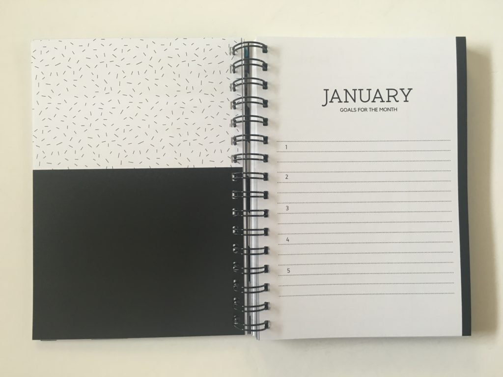 penny paperoni weekly planner monthly goal setting minimalist neutral colors simple a5 size australian made horizontal 2 pages per week lined