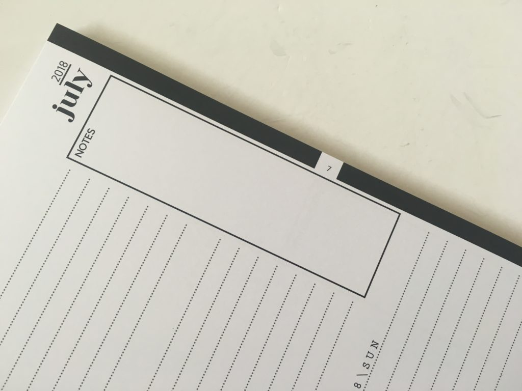 penny paperoni weekly planner monthly goal setting minimalist neutral colors simple a5 size australian made horizontal 2 pages per week lined tabs functional