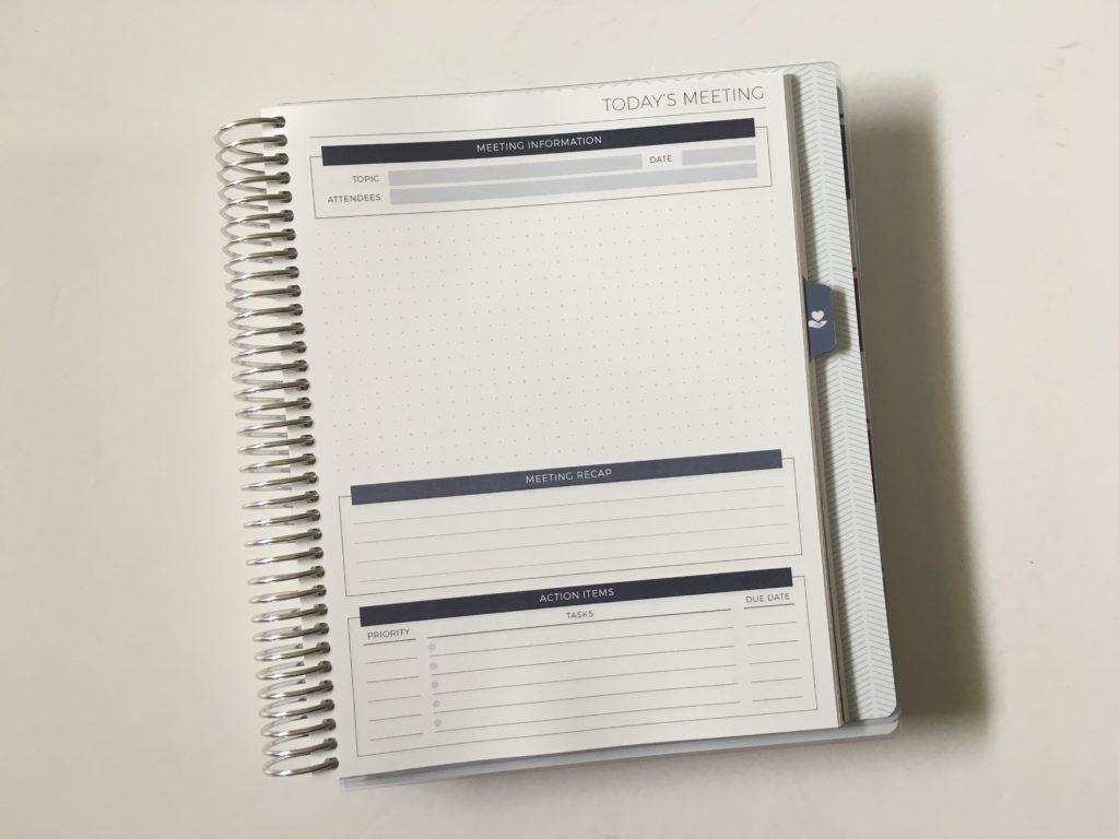 Plum Paper Planner Comparison Colorful Versus Neutral