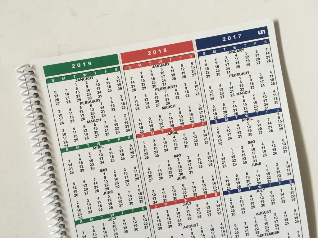 Calendar Vs Planner : Uncalendar planner review undated weekly pros