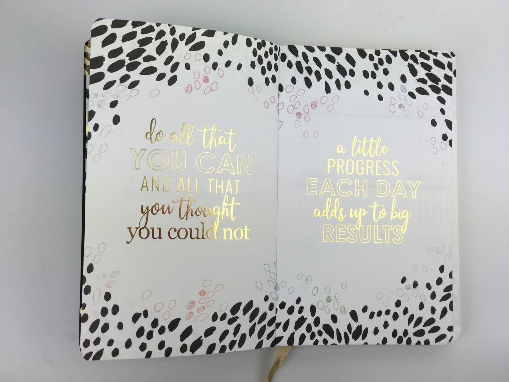 erin condren bookbound planner gold foil black minimalist horizontal vertical pros and cons classy small medium large size