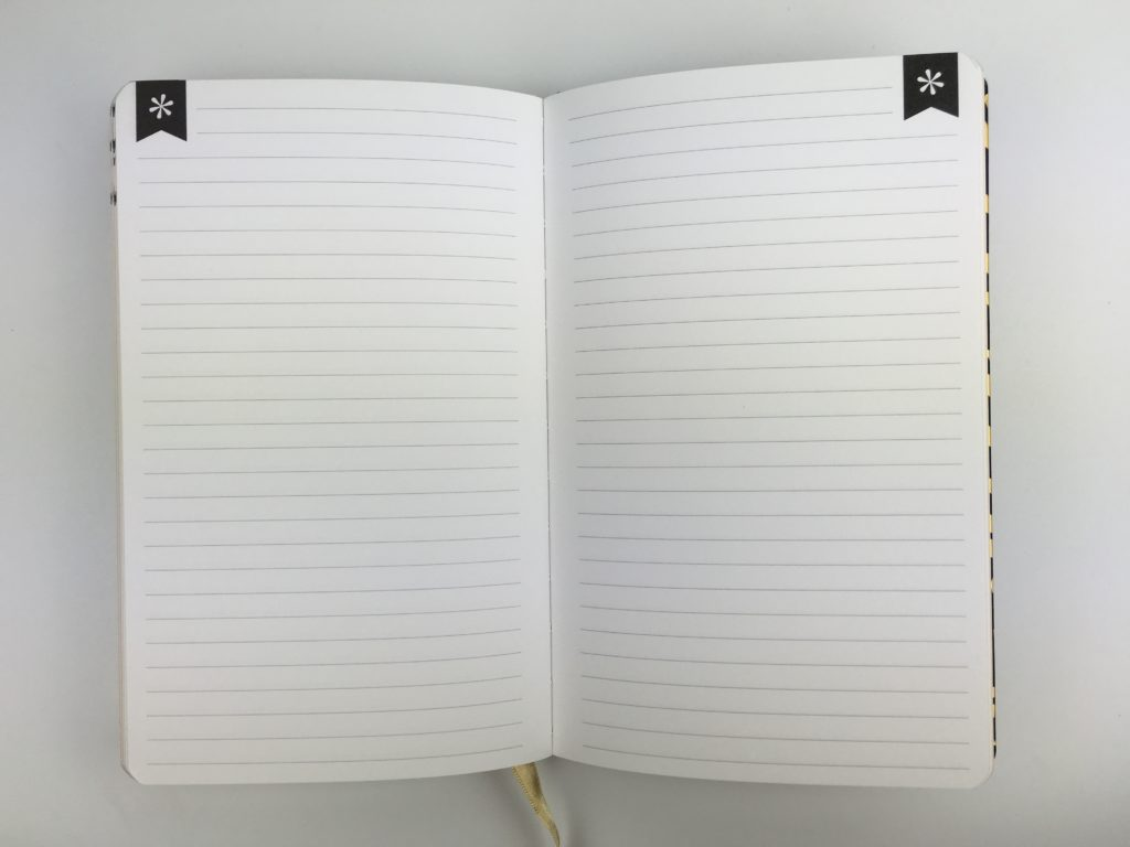 erin condren hardbound notebook lined honest pros and cons review pen testing sewn bookbound