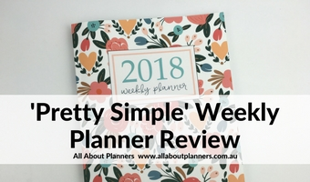 pretty simple planners weekly planner review horizontal lined checklist minimalist cheaper alternative to emily ley simplified