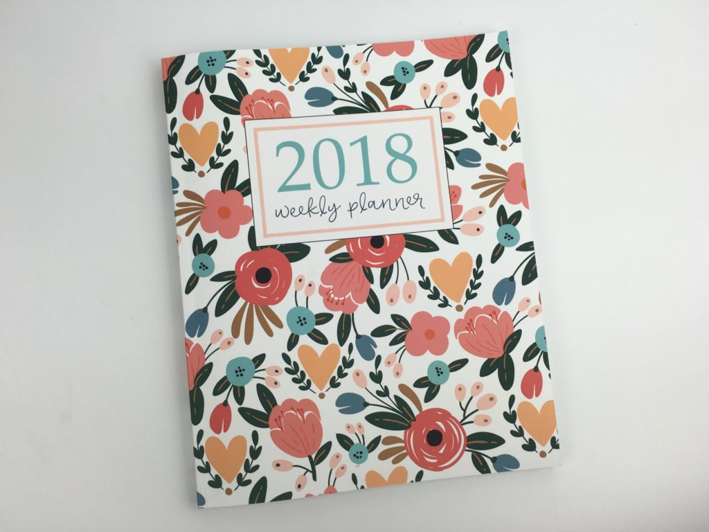 pretty simple weekly planner review pros cons horizontal weekly planner cheaper alternative to emily ley