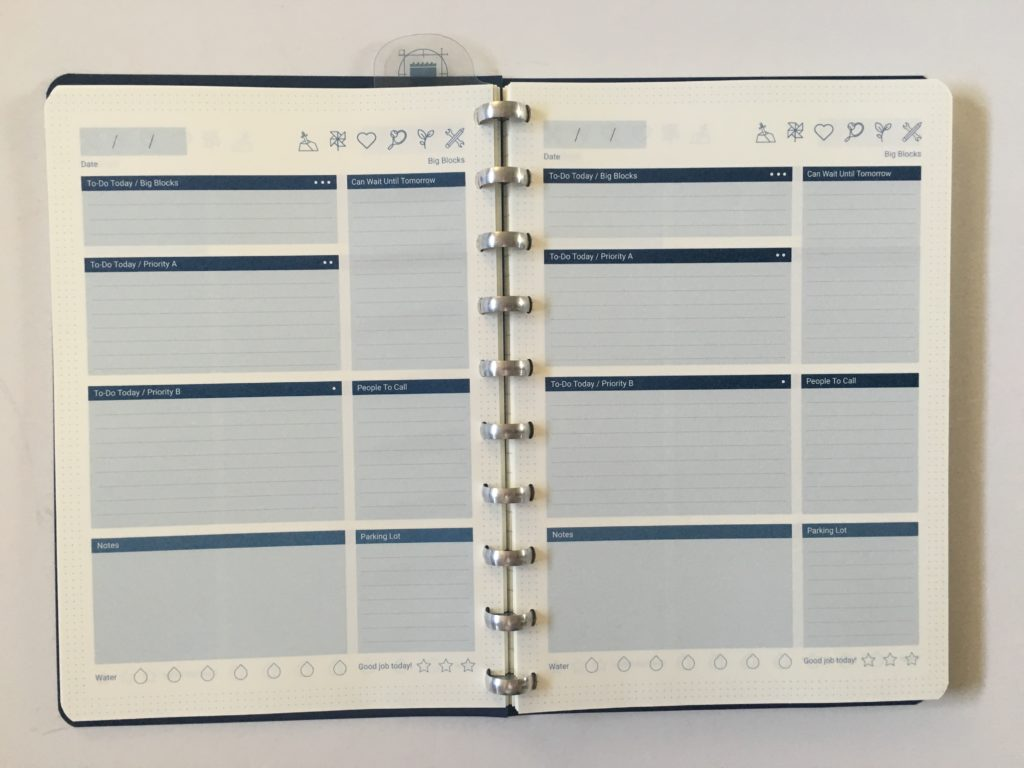 photograph about Daily Planner Notebook known as The Fantastic Laptop computer Research (Discbound Planner) - All Concerning