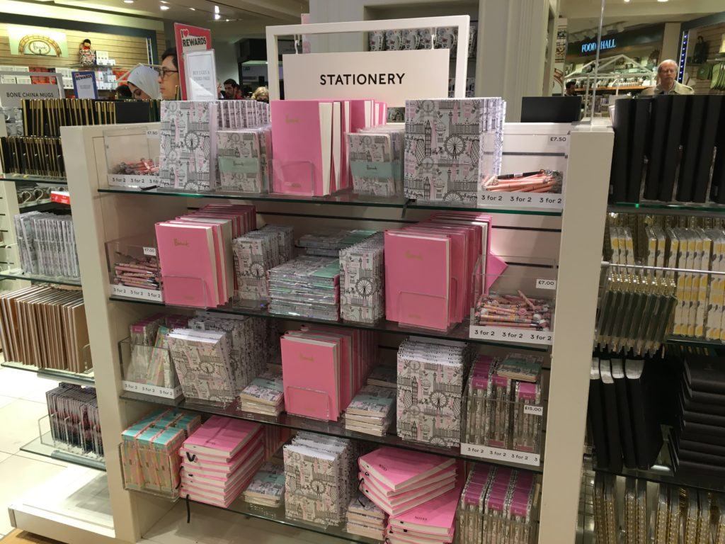 harrods stationery department favorite places to buy planner supplies in london review roundup tips shopping-min