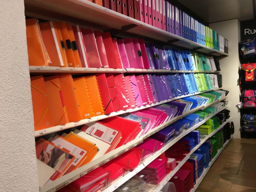 manor stationery shopping switzerland arc discbound alternative plastic sleeves folder color coding supplies organization planner addict stationery-min