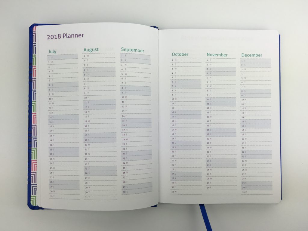 master plan family diary milligram 2018 agenda organizer categorised monday week start australia bookbound diary review milestone press annual dates at a glance future log