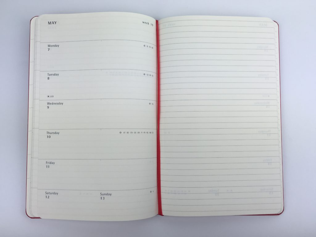 moleskin weekly planner review monthly 1 page how to use ideas inspiration honest review pros and cons 2 page weekly view lined unlined blogging planner