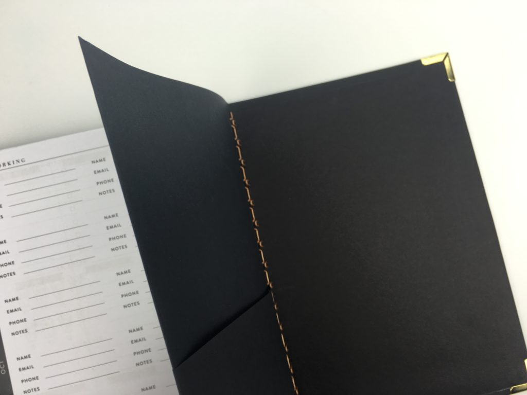 sugar and type rule the world planner pocket folder minimalist gender neutral business planner habit tracker weekly