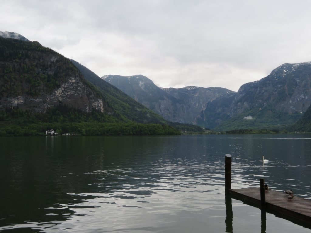 hallstat austria day trip viator tour review european alpine village lakeside cute quaint spring village how to get there