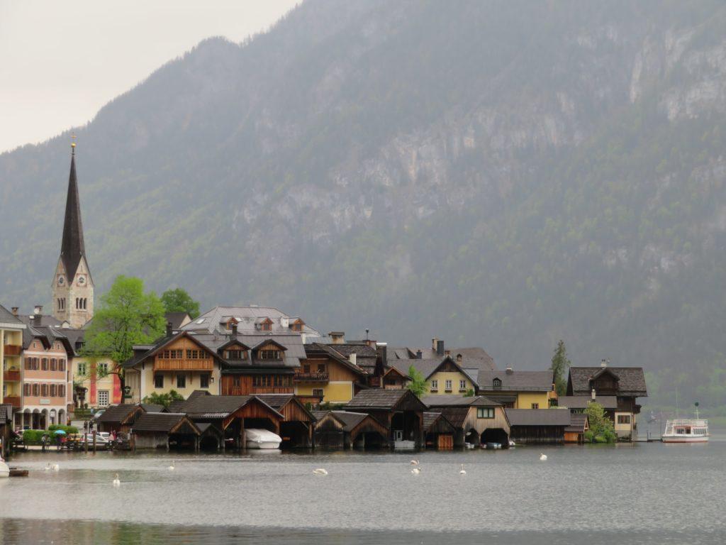 hallstatt austria from salzburg spring weather itinerary day trip lakeside alpine town